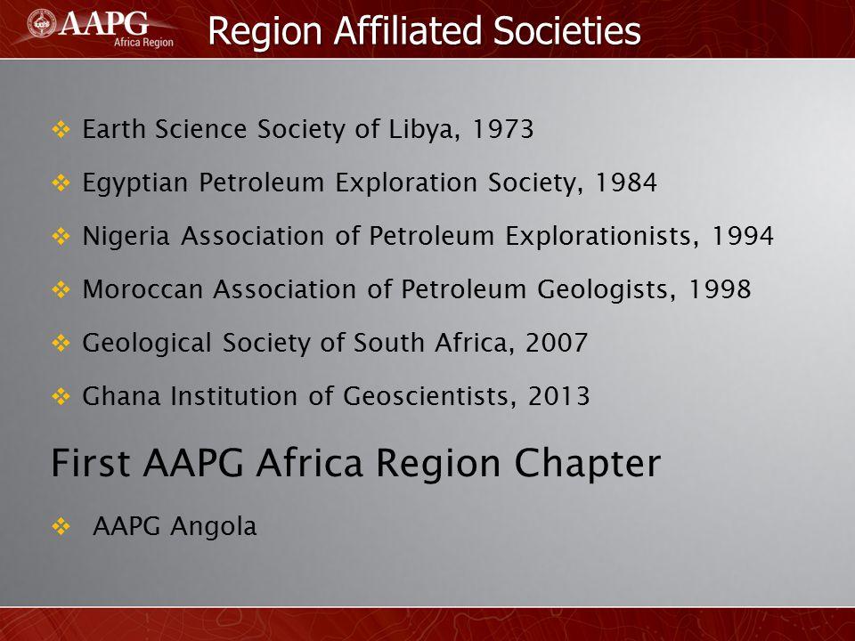 Region Affiliated Societies
