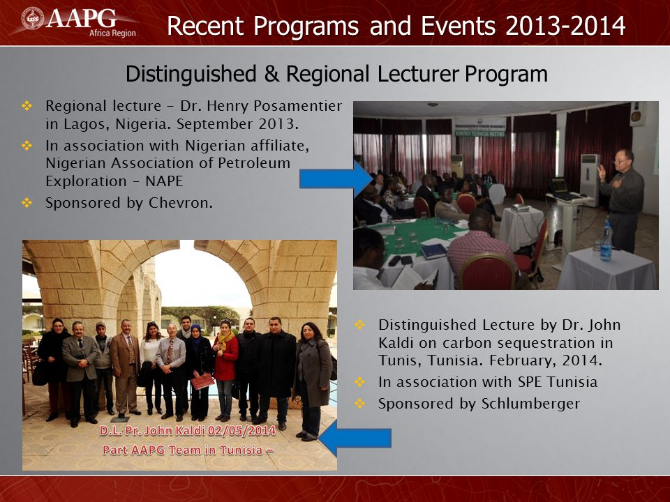 Recent Programs and Events 2013-2014