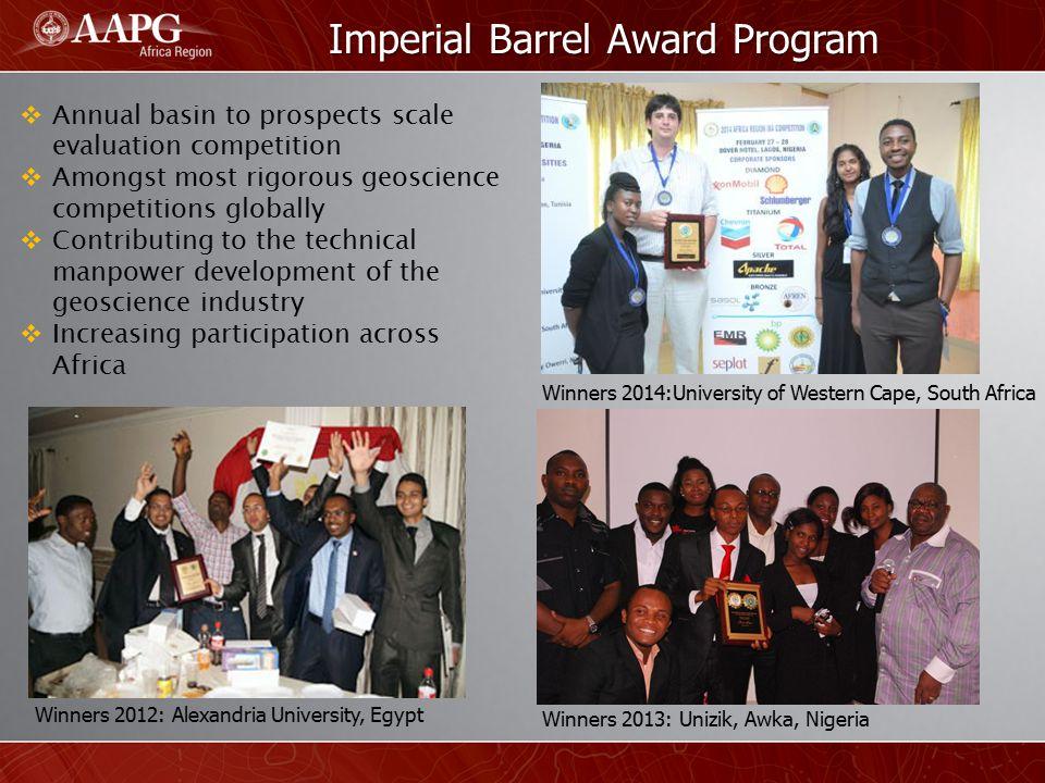 Imperial Barrel Award Program