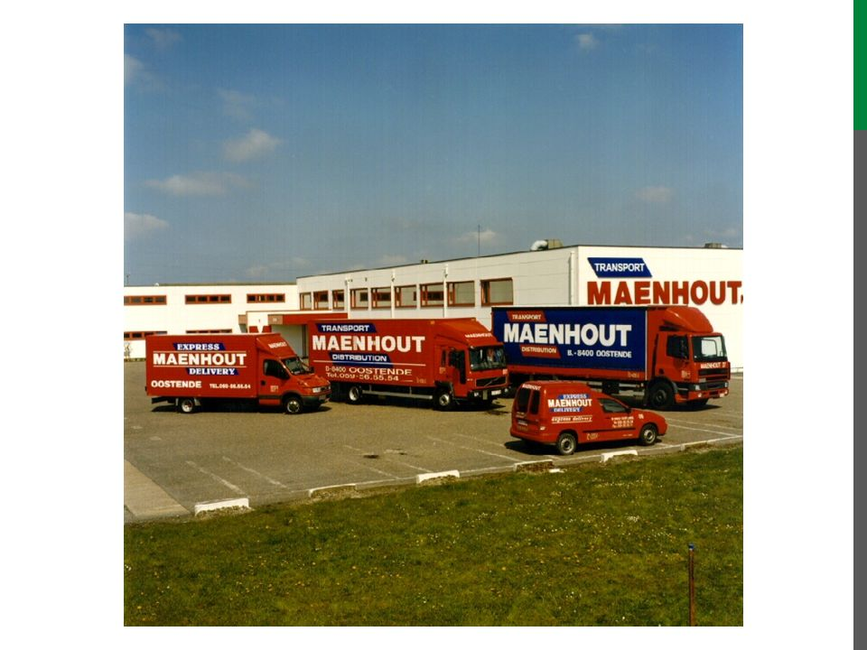 In july 2002, Johan appointed me officially as union representative for Transport Maenhout, proving that all subcompanies in fact were one big company.
