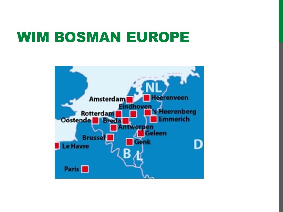 Wim bosman EUROPE