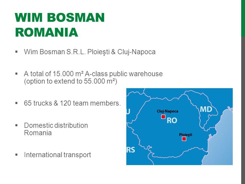 Wim Bosman Romania Wim Bosman S.R.L. Ploieşti & Cluj-Napoca