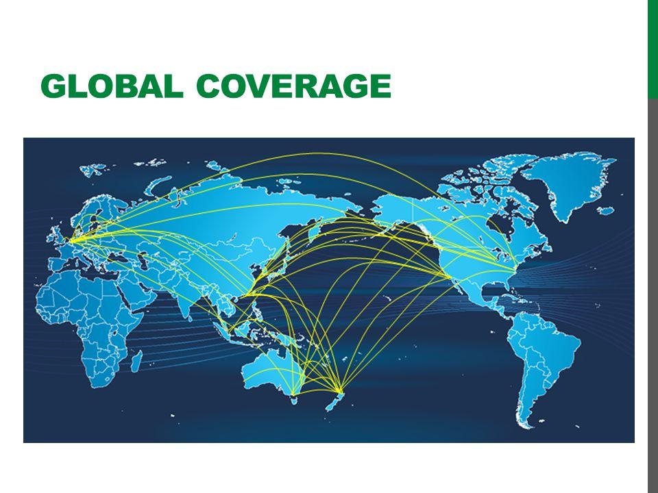 Global coverage Slide toegevoegd door CK  OK