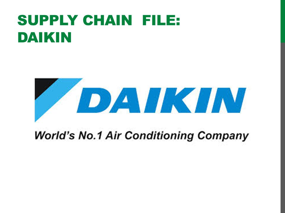 Supply chain file: DAIKIN