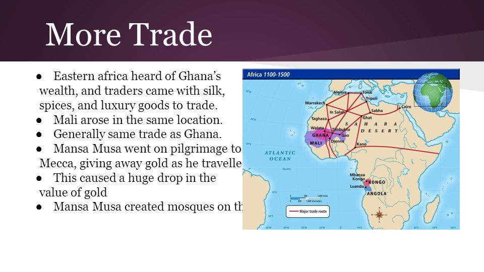 More Trade Eastern africa heard of Ghana's