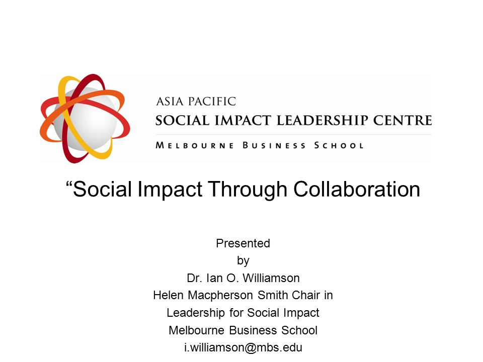 impact through collaboration Associations, joint programs, shared support functions, and mergers are all means to grow impact, be it through advocacy, lowering costs, or increasing scope and scale of programs but little is known about how frequently these collaborations take place, nor how successful they are a survey of both.