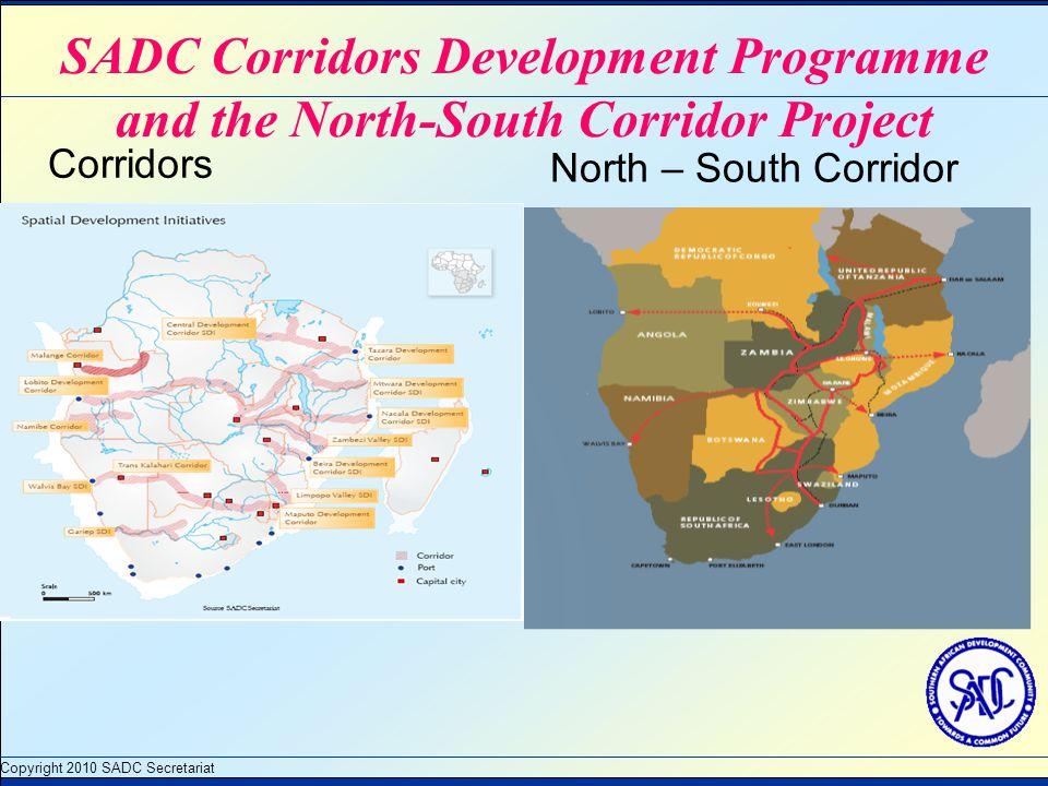 Corridors North – South Corridor