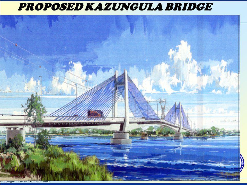 PROPOSED KAZUNGULA BRIDGE