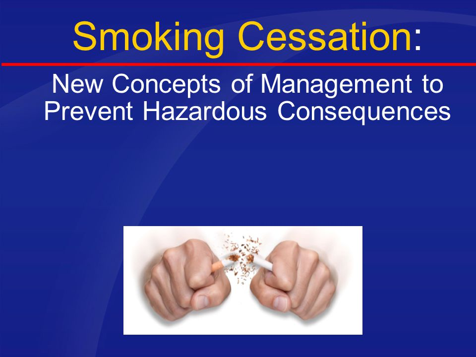 New Concepts of Management to Prevent Hazardous Consequences
