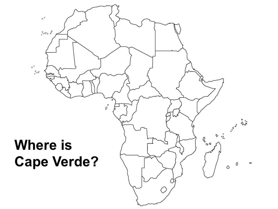 Where is Cape Verde