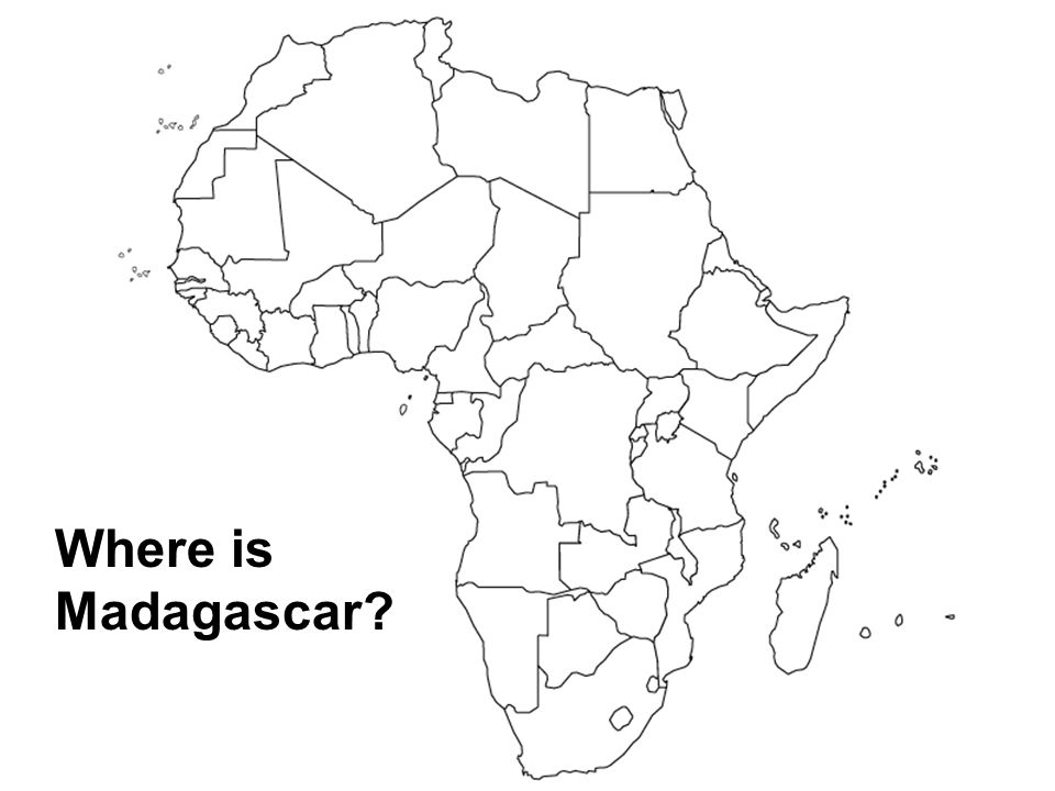Where is Madagascar