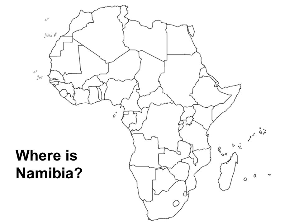 Where is Namibia