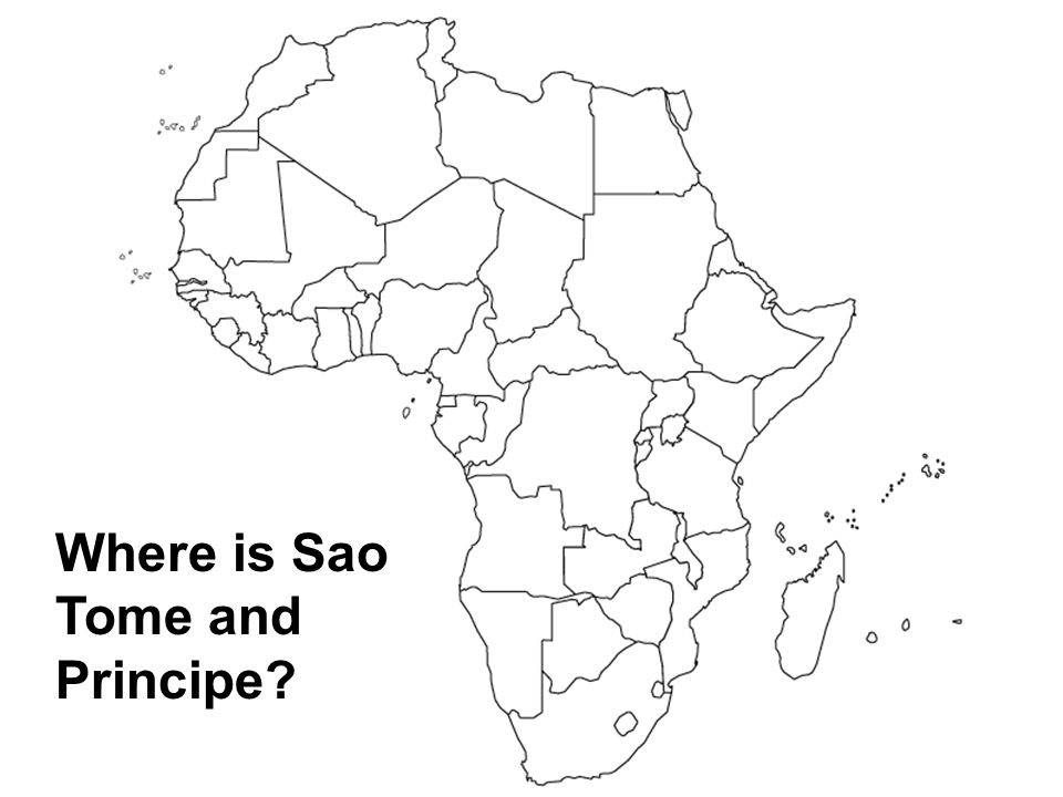 Where is Sao Tome and Principe