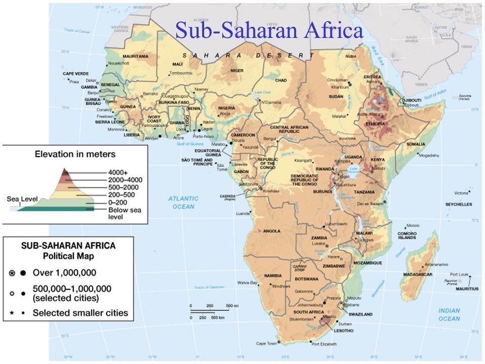 Sub Saharan Africa.   ppt video online download