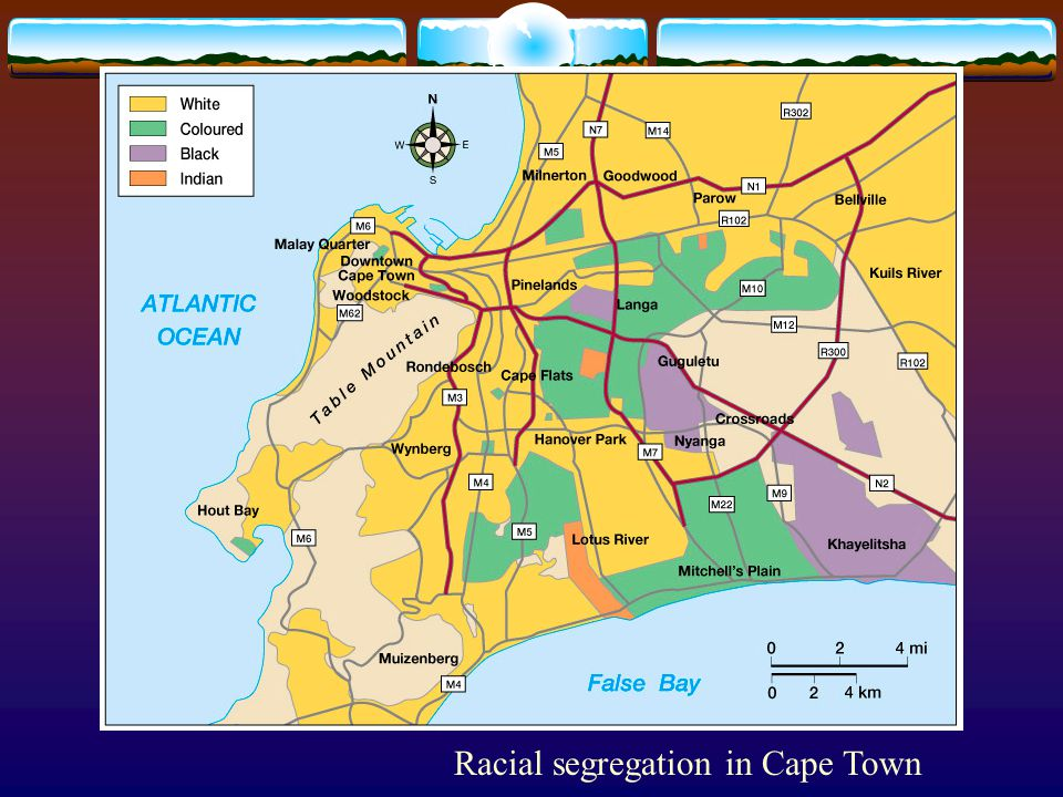 Racial segregation in Cape Town