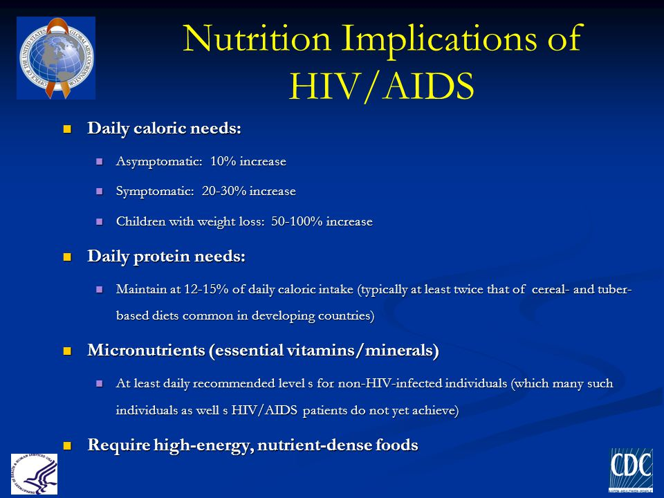 Nutrition Implications of HIV/AIDS