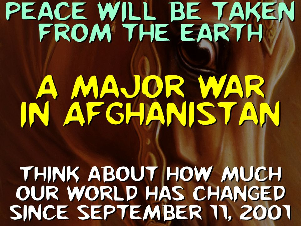 A major war in Afghanistan
