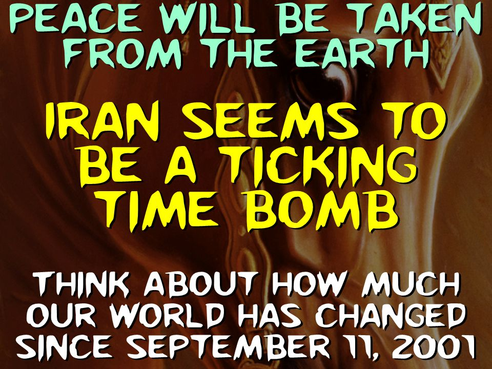Iran seems to be a ticking time bomb