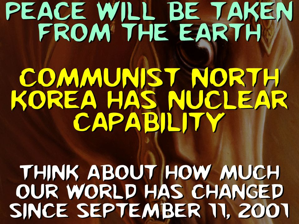 Communist North Korea has nuclear capability