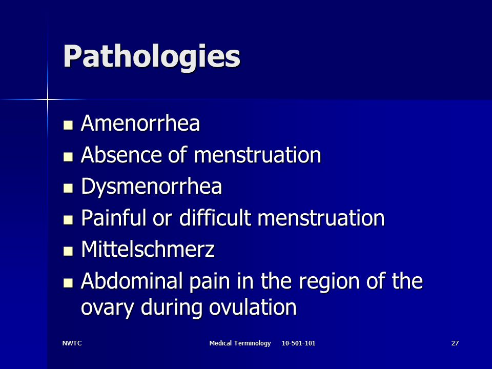 Medical Terminology 10-501-101