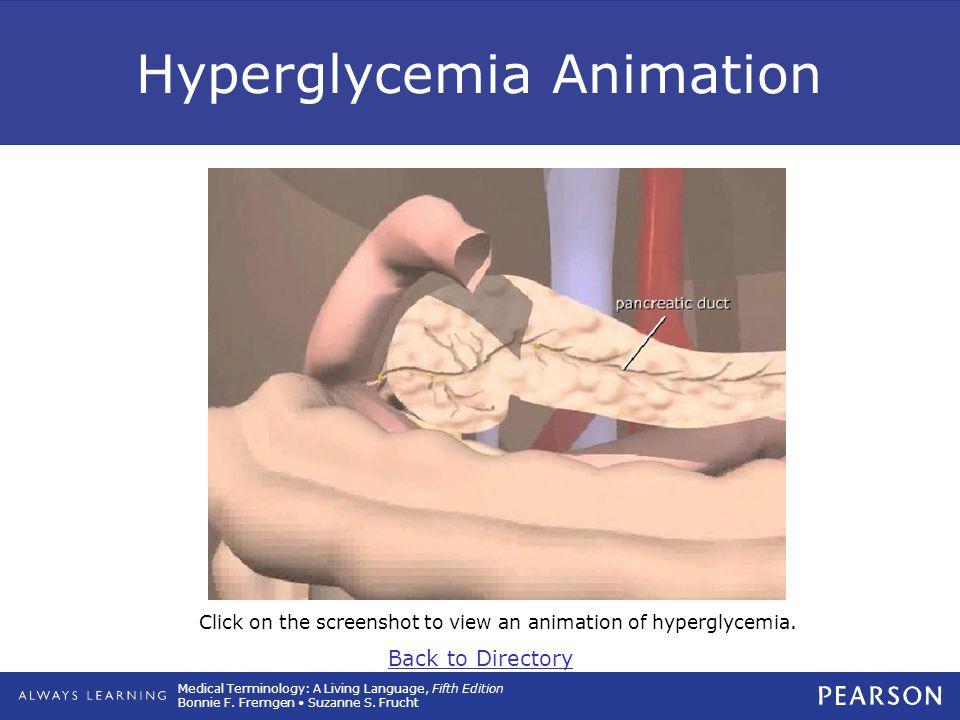 Hyperglycemia Animation