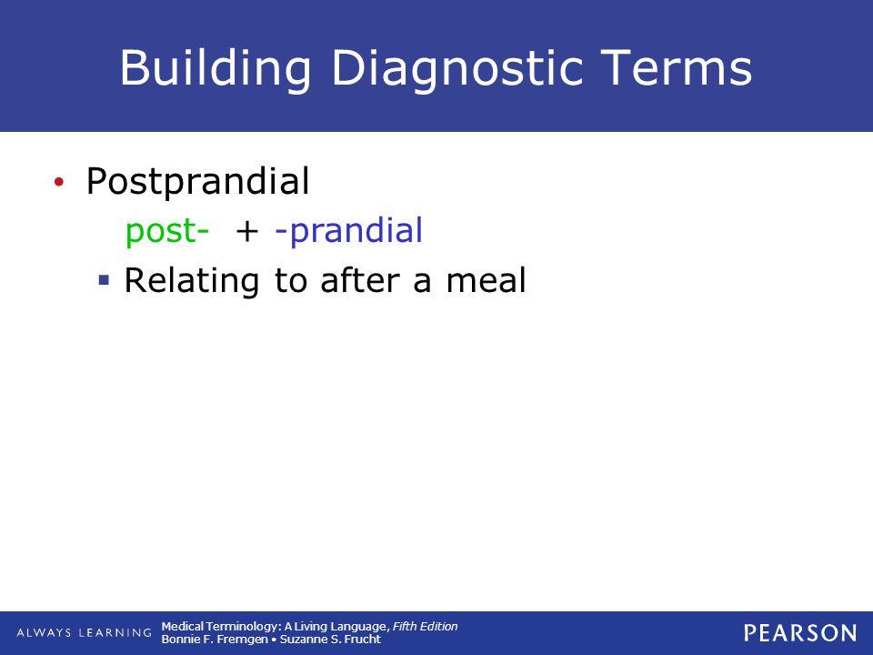Building Diagnostic Terms