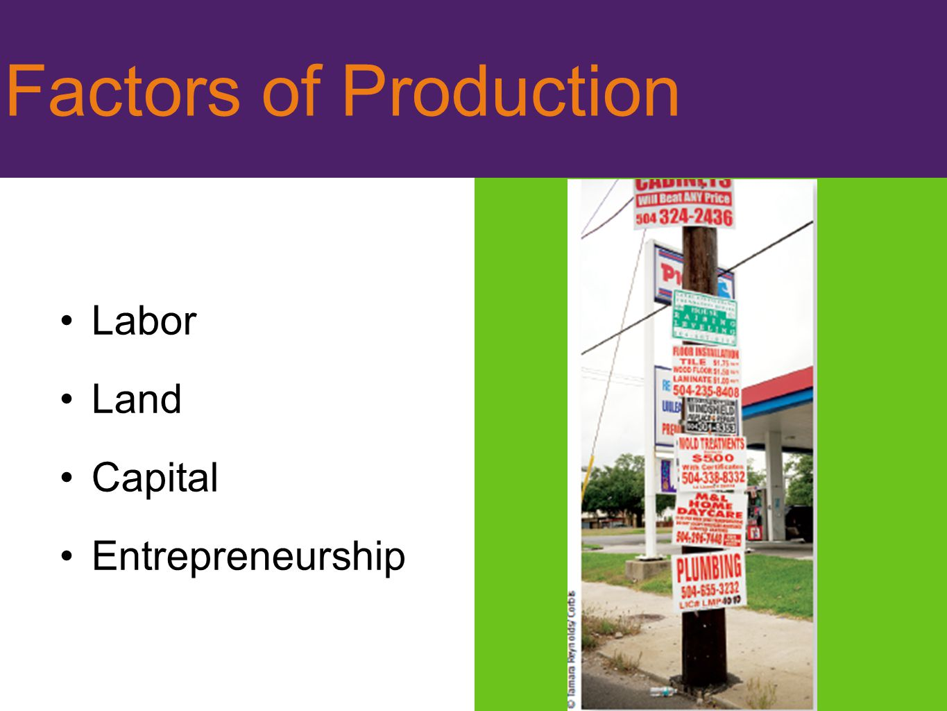 factors of production land labor capital and entrepreneur Cio network insights and ideas for technology leaders opinions expressed by forbes contributors are their own classical economic theory describes three primary factors, or inputs, to the production of any good or service: land, labor, and capital these factors facilitate production, but do not.