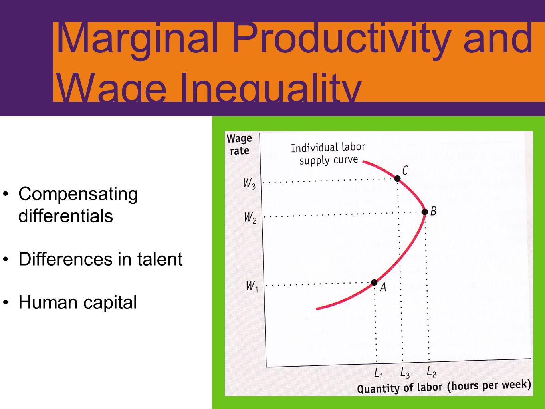 Marginal Productivity and Wage Inequality
