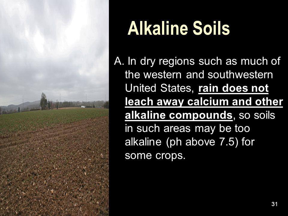 Alkaline Soils