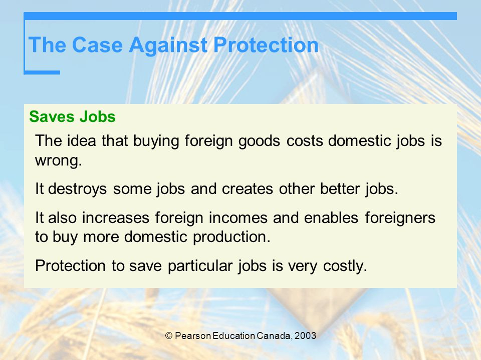 The Case Against Protection