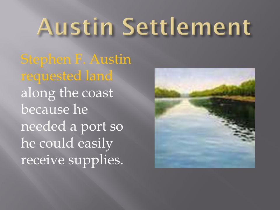 Austin Settlement Stephen F.