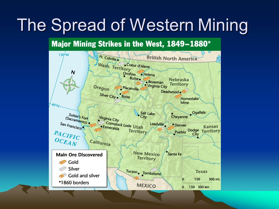 The Spread of Western Mining