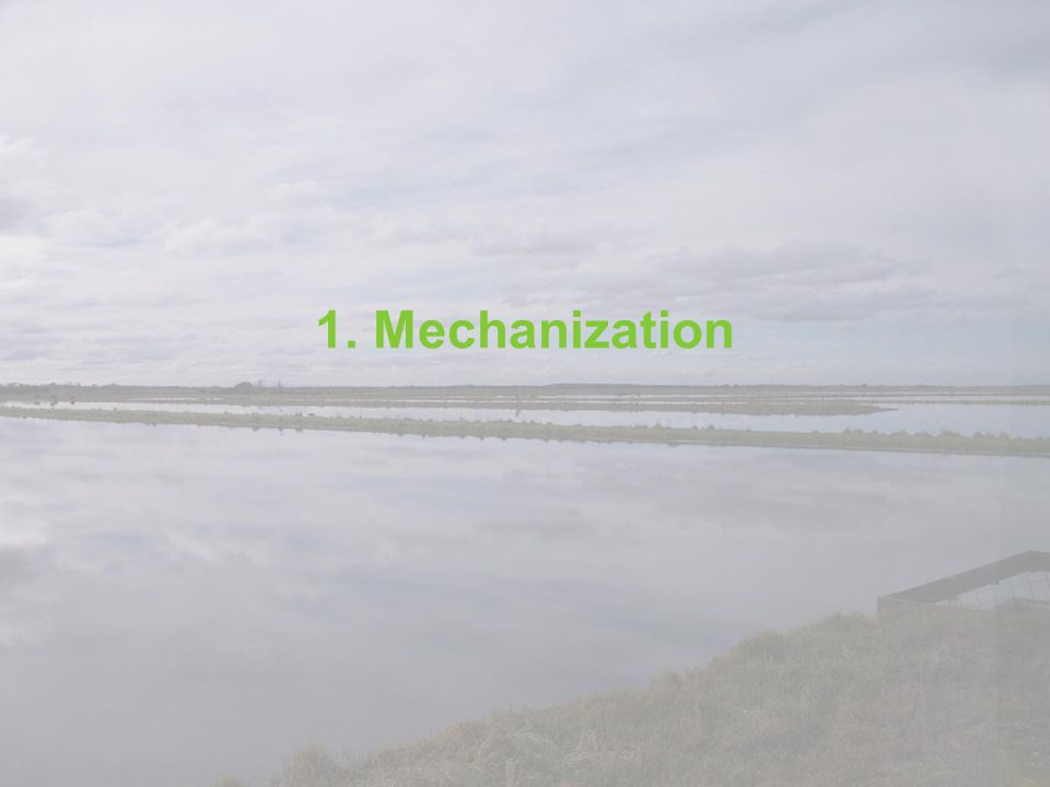 1. Mechanization