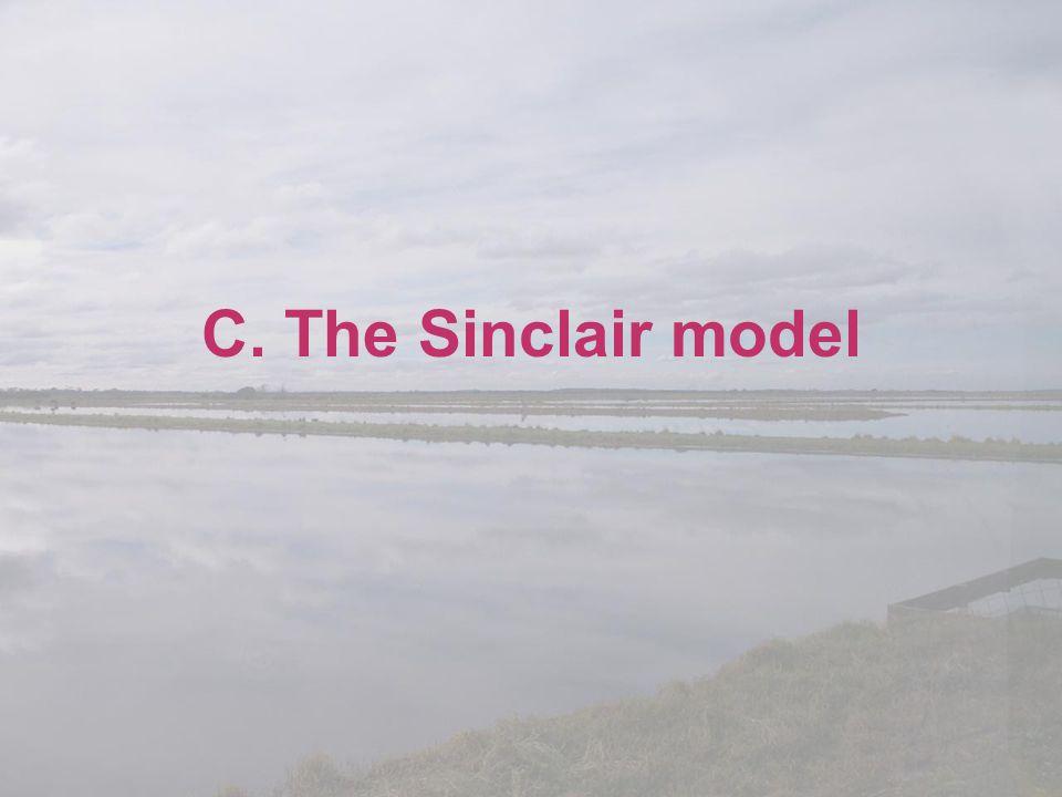 C. The Sinclair model