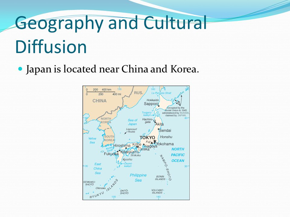 Geography and Cultural Diffusion