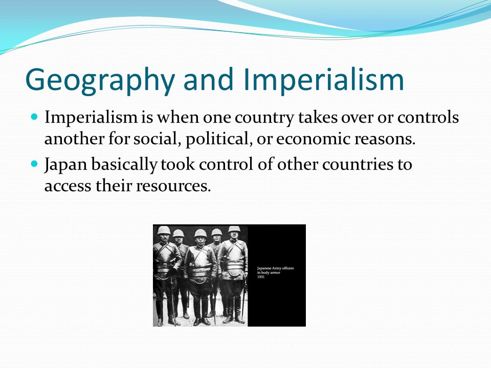 Geography and Imperialism