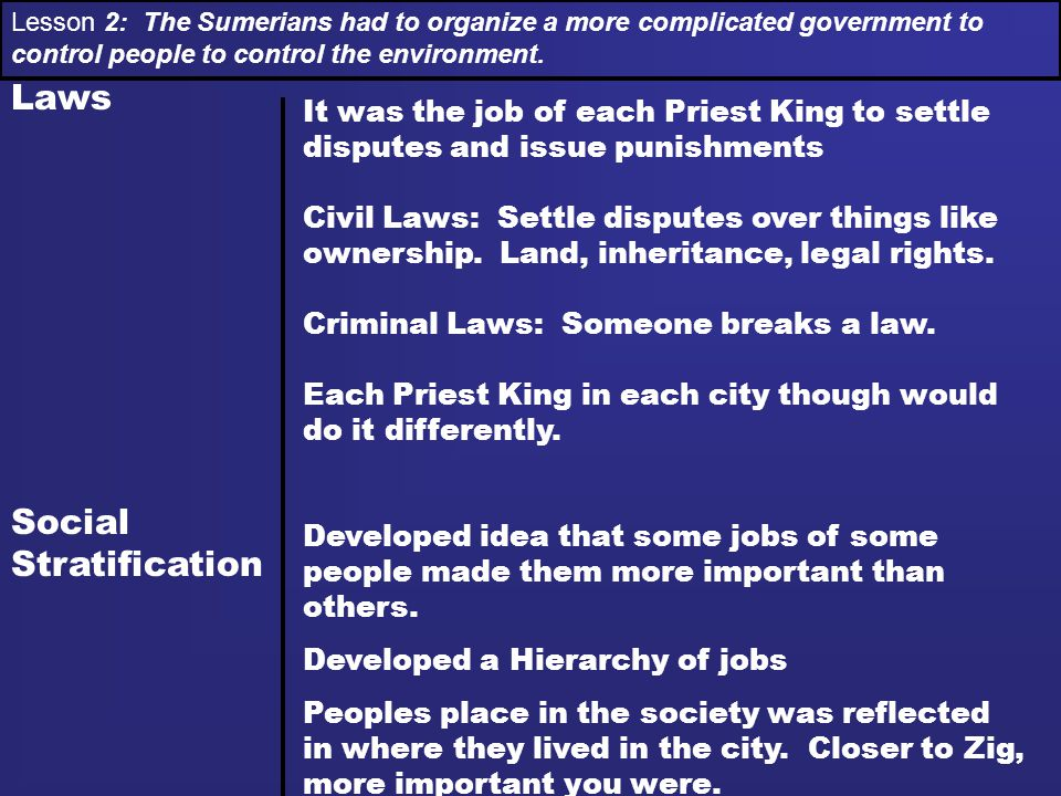 Laws Social Stratification