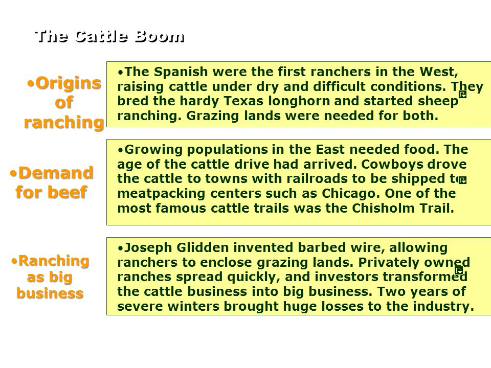 Ranching as big business