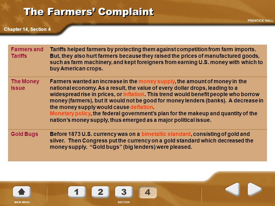 The Farmers' Complaint
