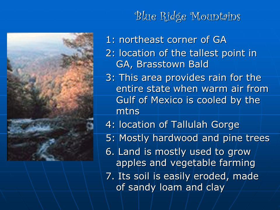 Blue Ridge Mountains 1: northeast corner of GA