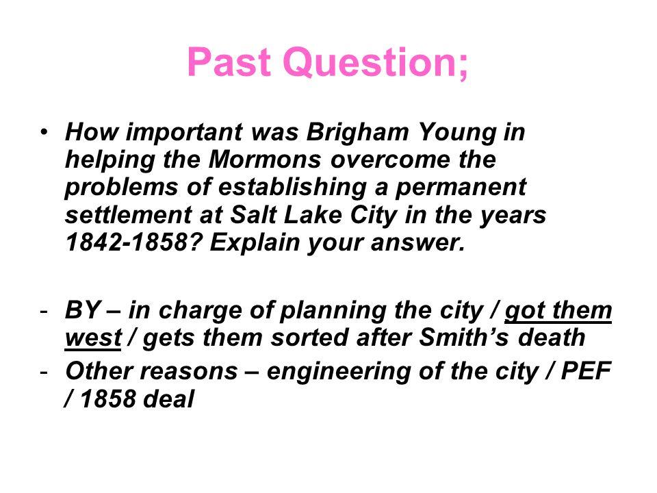 Past Question;