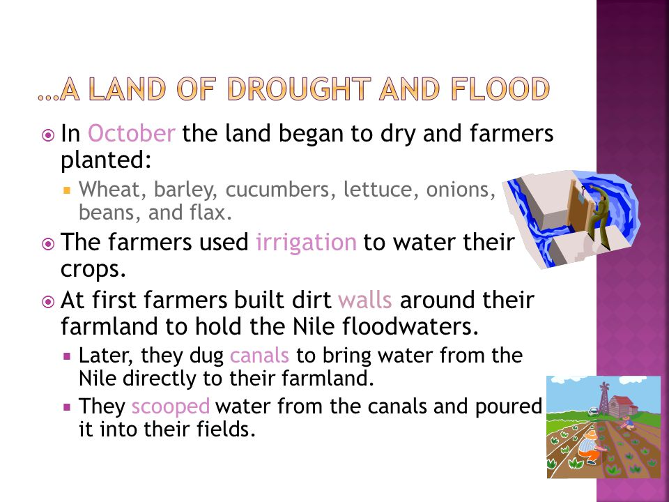 …A Land of Drought and Flood