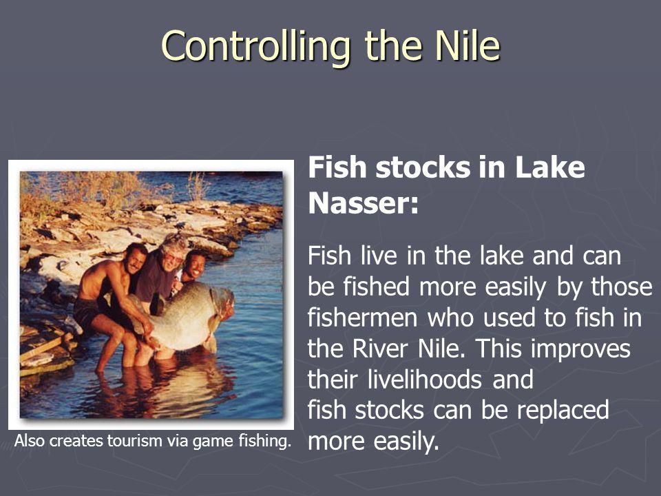 Controlling the Nile Fish stocks in Lake Nasser: