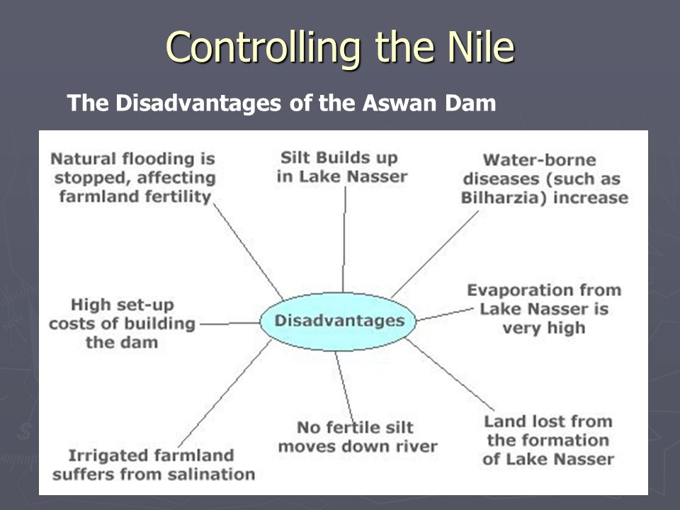 Controlling the Nile The Disadvantages of the Aswan Dam