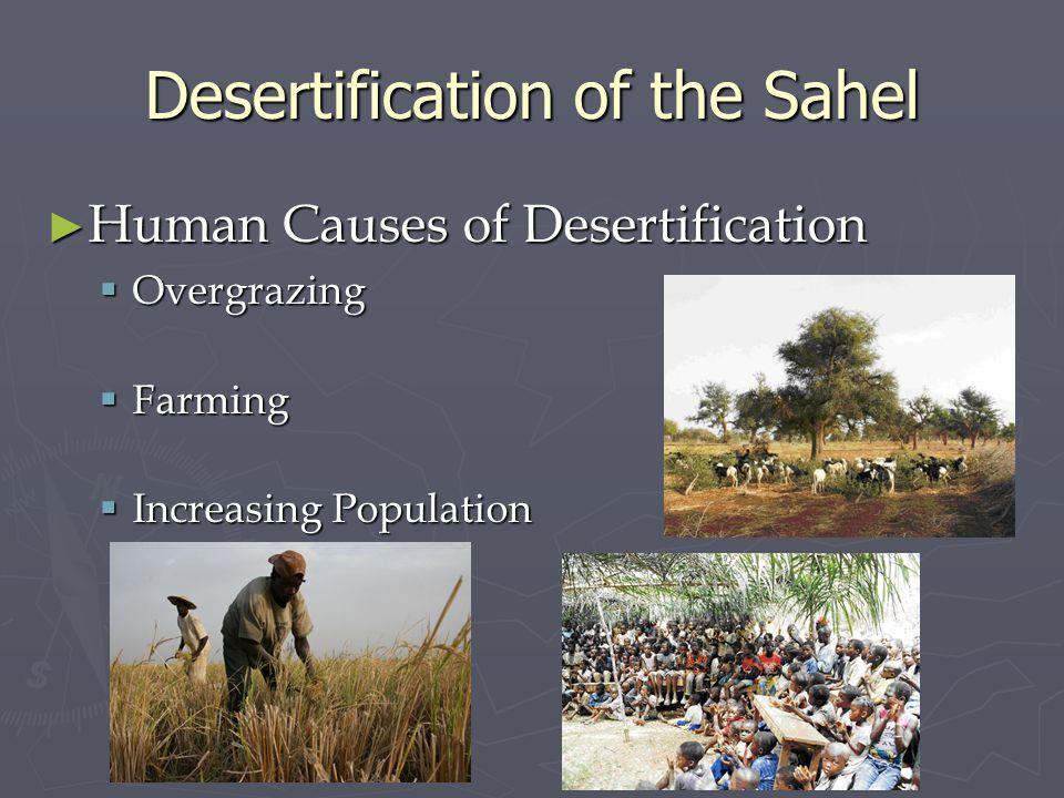 Desertification of the Sahel