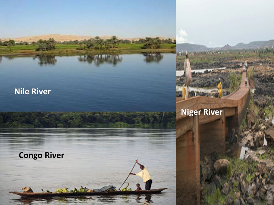 Nile River Niger River Congo River