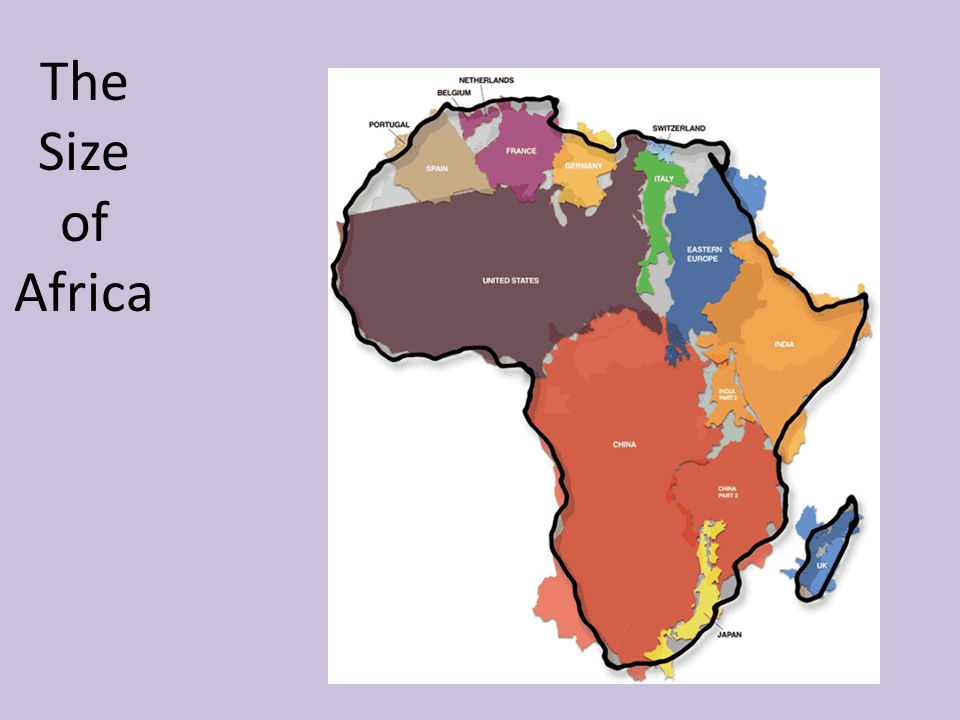 The Size of Africa