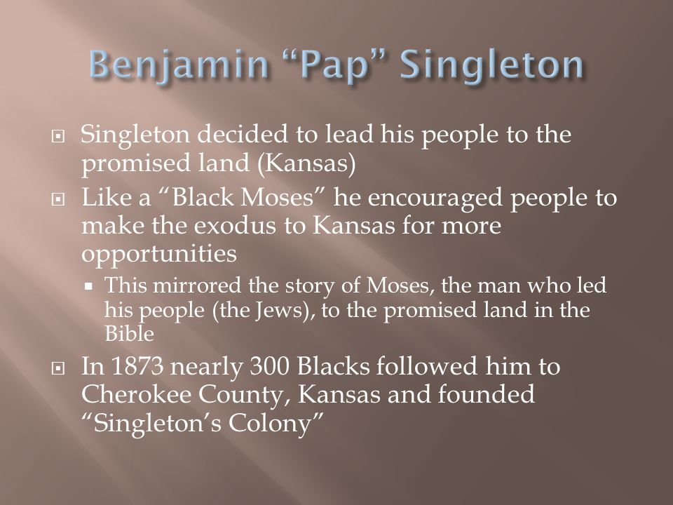Benjamin Pap Singleton