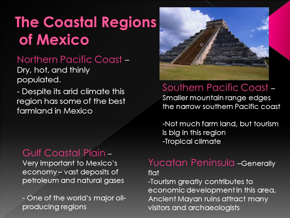 The Coastal Regions of Mexico