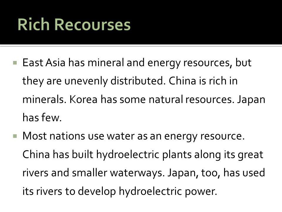 Rich Recourses